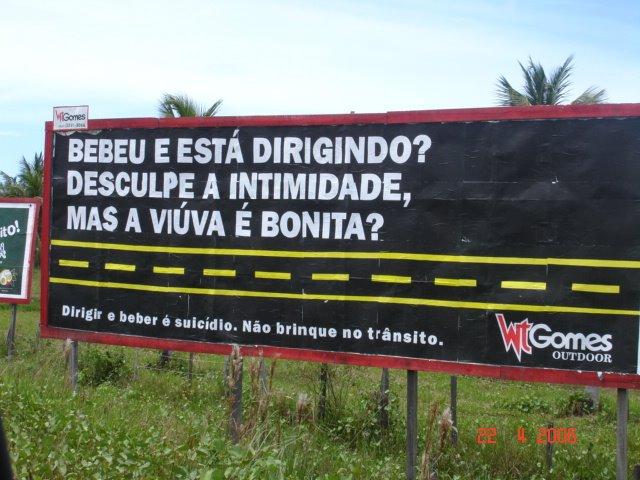 Campanha Álcool Direção