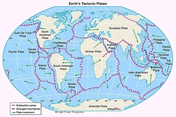 Terremotos e Tsunamis