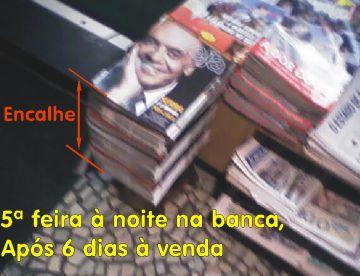 Veja encalha com Serra nas bancas de jornais