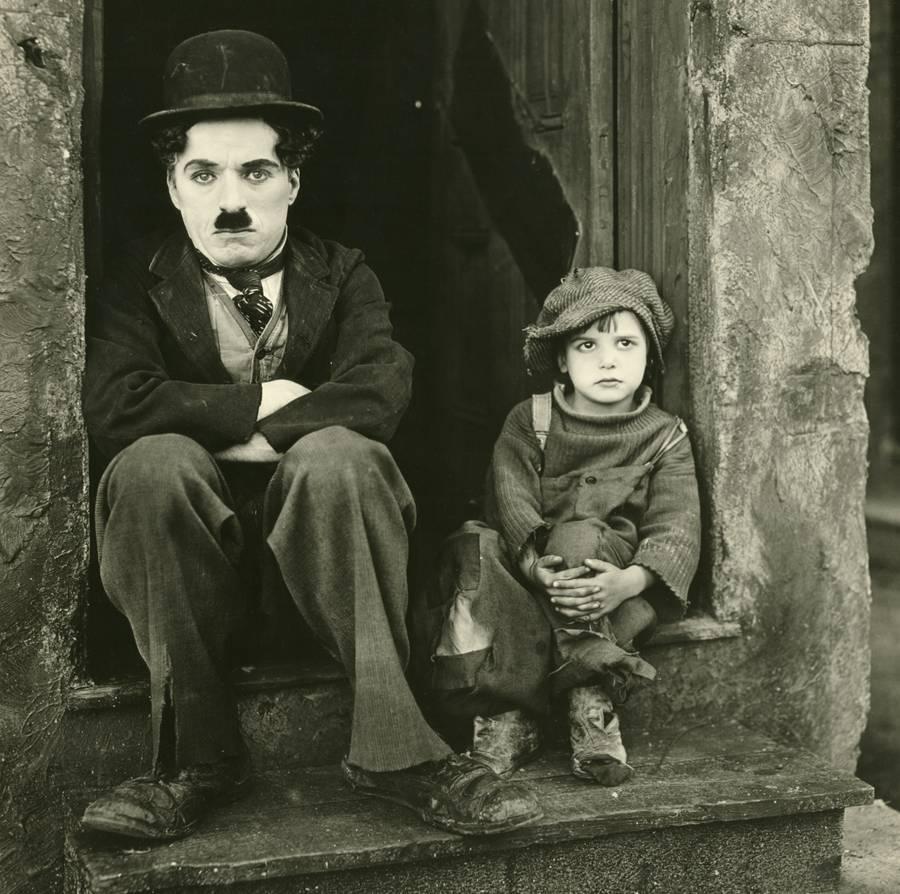 Charles Chaplin - O Garoto e o ciclo da vida
