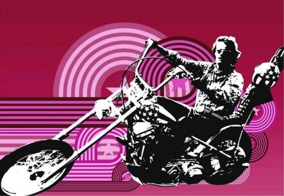 Moto Harley Davidson - Easy Rider, Sem Destino
