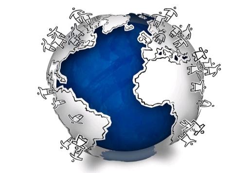 O mundo é uma aldeia global