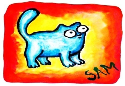 Simon's cat - o gato do Simon na animação do YouTube
