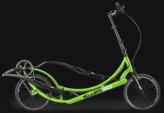 Bicicleta elíptica step móvel