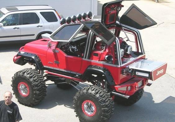 Jeep Willys reformado - aparelhagem som show