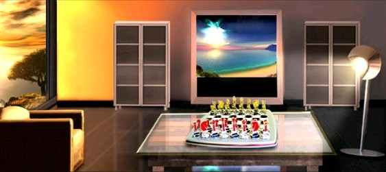 Jogo de Xadrez na Decoração de Ambientes