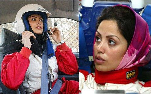 Laleh Seddigh, piloto - a fera iraniana