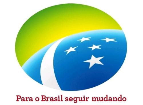 Material oficial de campanha da Dilma