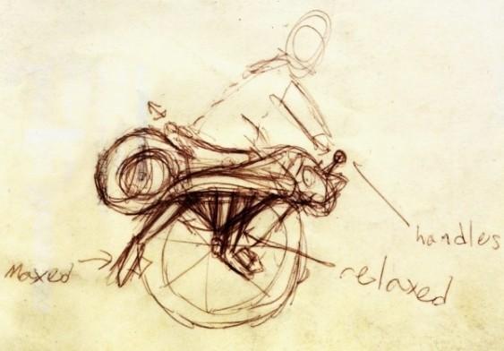 Ryno - projeto de moto de uma roda