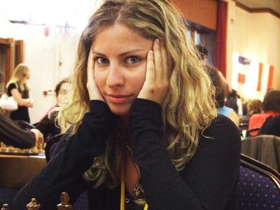 Ticia Gara - musa do xadrez
