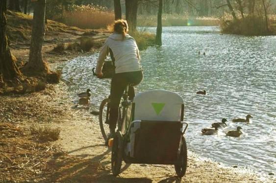 Trailer reboque para bikes