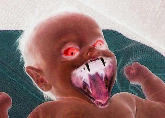 Bebê diabo