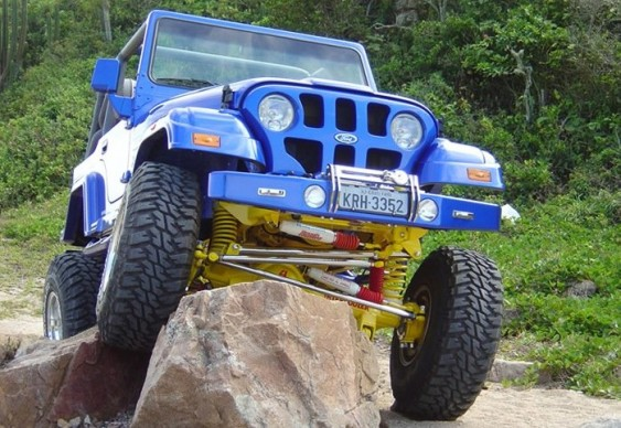 Jeep Willys CJ5 Mamute