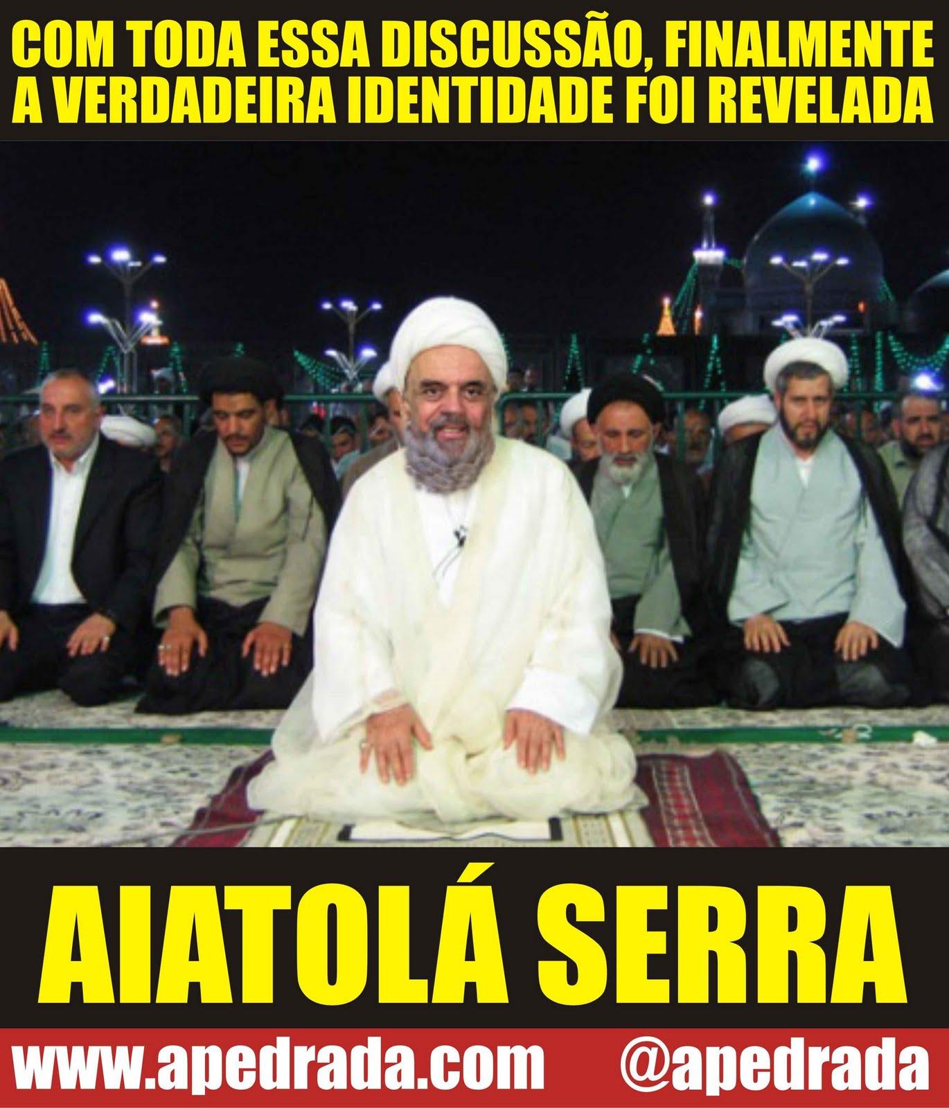 Charge política: Aiatolá José Serra