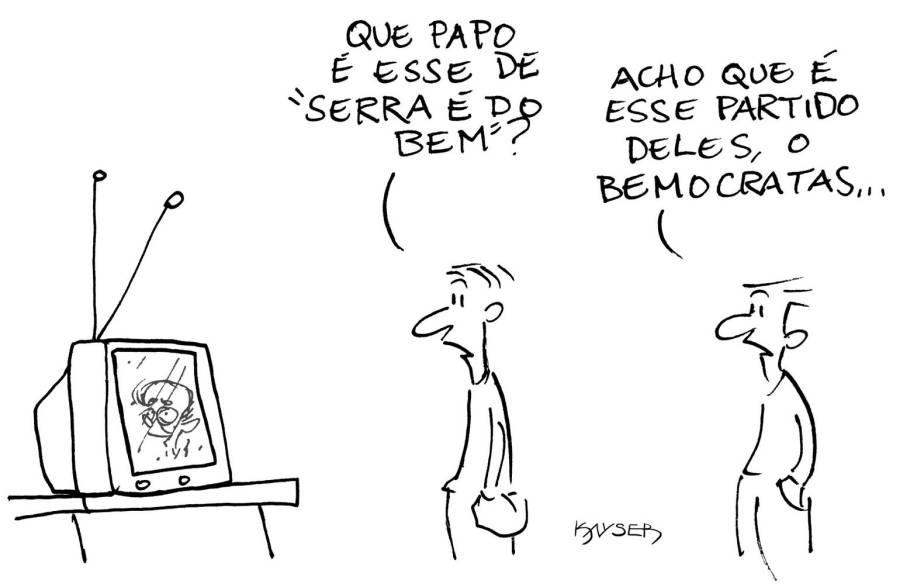 Charge Política - José Serra