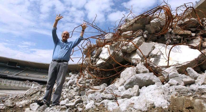 José Serra - escombros tucanos