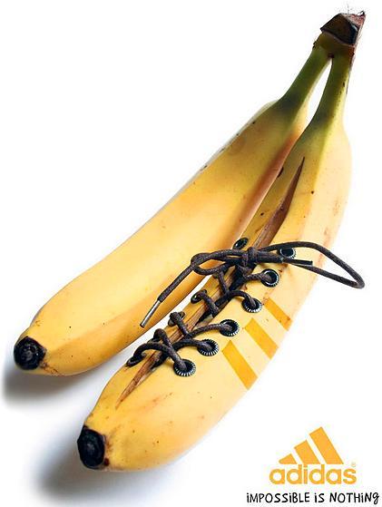 bananas - publicidade e propaganda - adidas