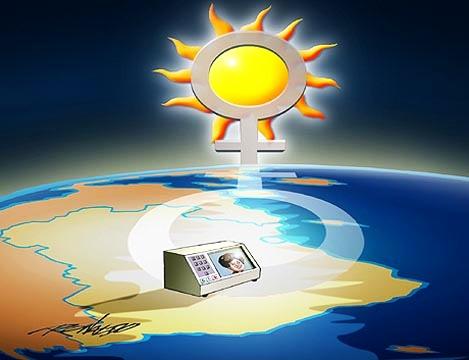 Charge - Presidenta Dilma