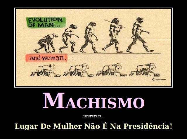Machistas X Dilma