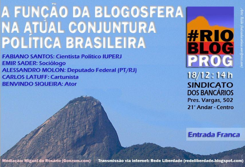 Encontro de blogueiros no Rio de Janeiro