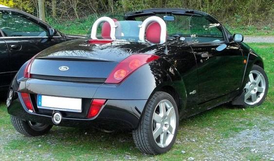 Ford Street Ka conversível preto