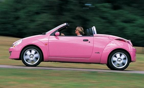Ford Street Ka rosa conversivel