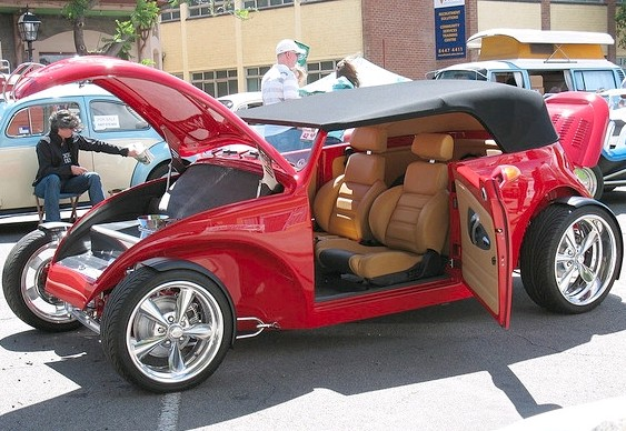 Volkswagen hot rod beetle