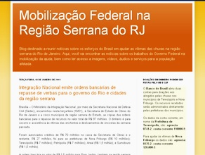 Blog Mobilização Federal na Região Serrana RJ