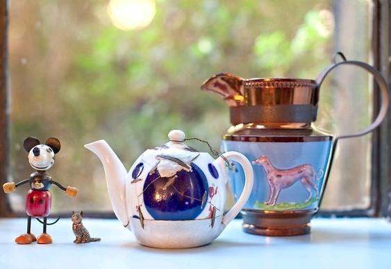 Restauração de vasos de porcelana