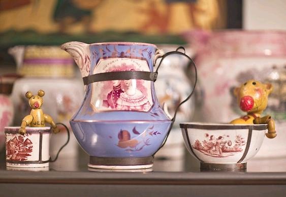 Reúso de porcelanas na decoração