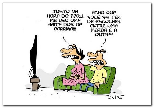Charge - Big Brother Brasil
