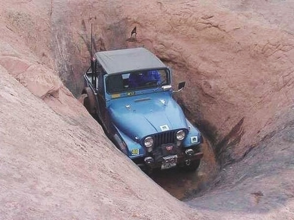 Jeep aventura - enfrentando desafios