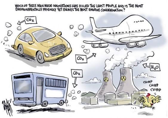 Charge - pânico com acidente nuclear no Japão