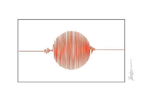 Charge - bandeira do Japão e o terremoto