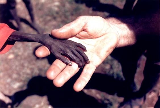 Fotografia da fome na África