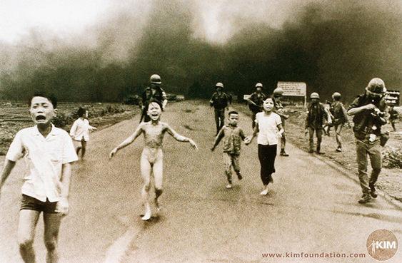Imagem símbolo da guerra do Vietnã