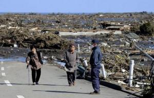 Maiores vítimas do tsunami no Japão
