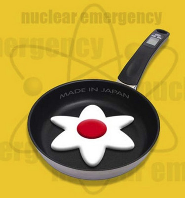 Usina nuclear japonesa - charge