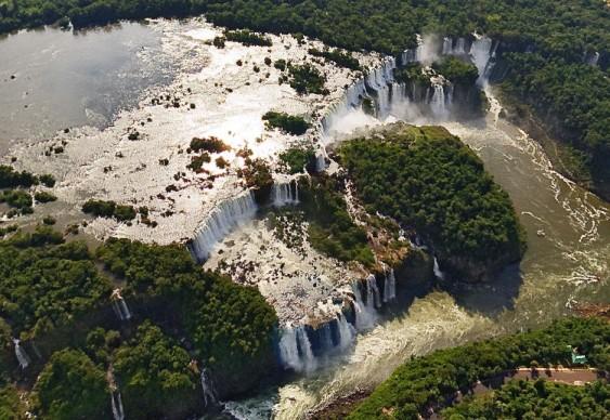 Foz do Iguaçú - passeio aéreo virtual