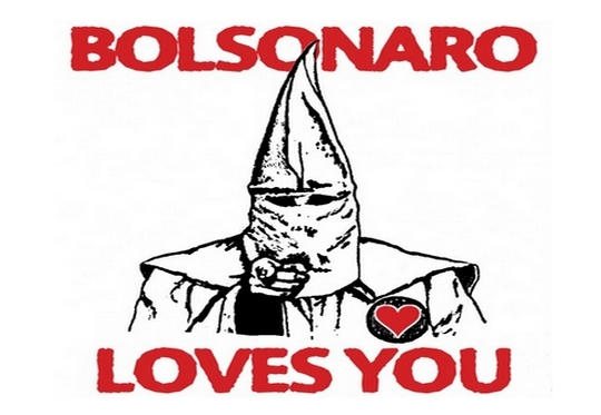 Bolsonaro - Ku Klux Klan