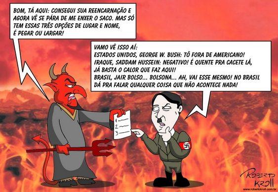 Bolsonaro - reencarnação de Hitler