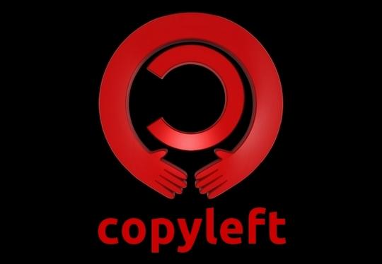 Copyleft Logo Mãos