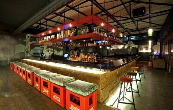 Balcão de bar - decoração