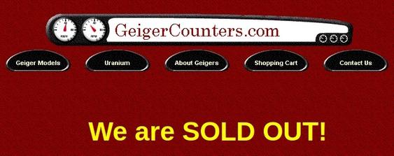 Contadores Geiger
