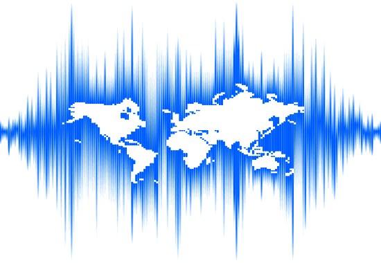 Gráfico de tremores