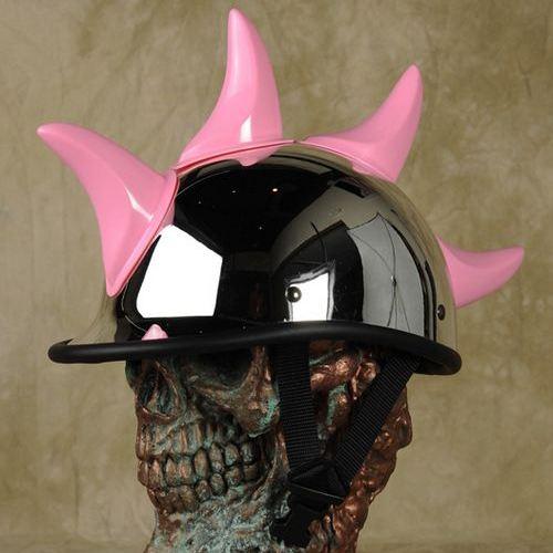 Chifres para capacetes de motos
