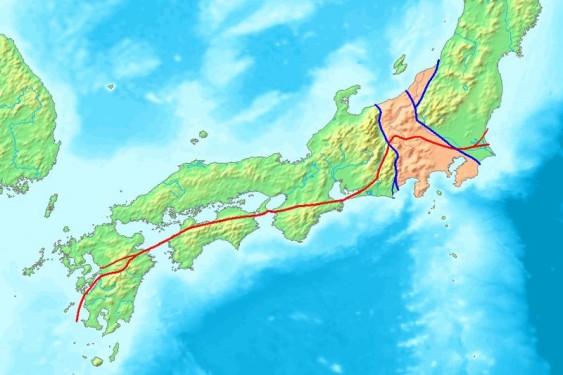 Placas tectônicas japonesas