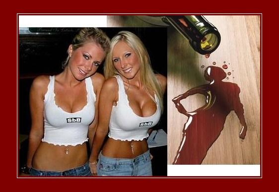 Louras e bebidas