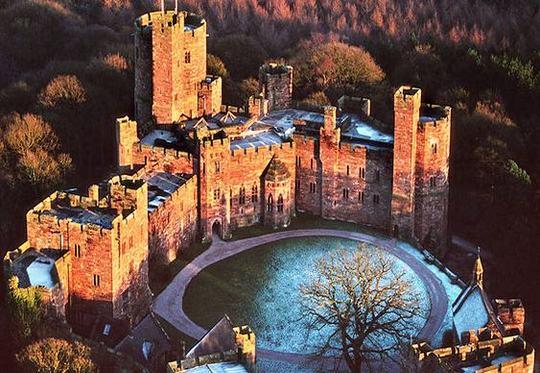 Castelo de Pecktorn na Inglaterra