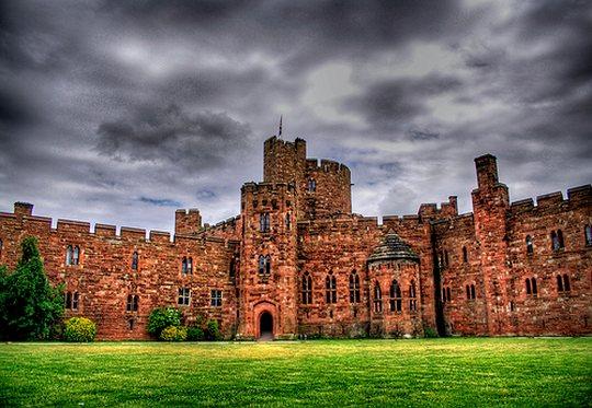 Típico castelo inglês